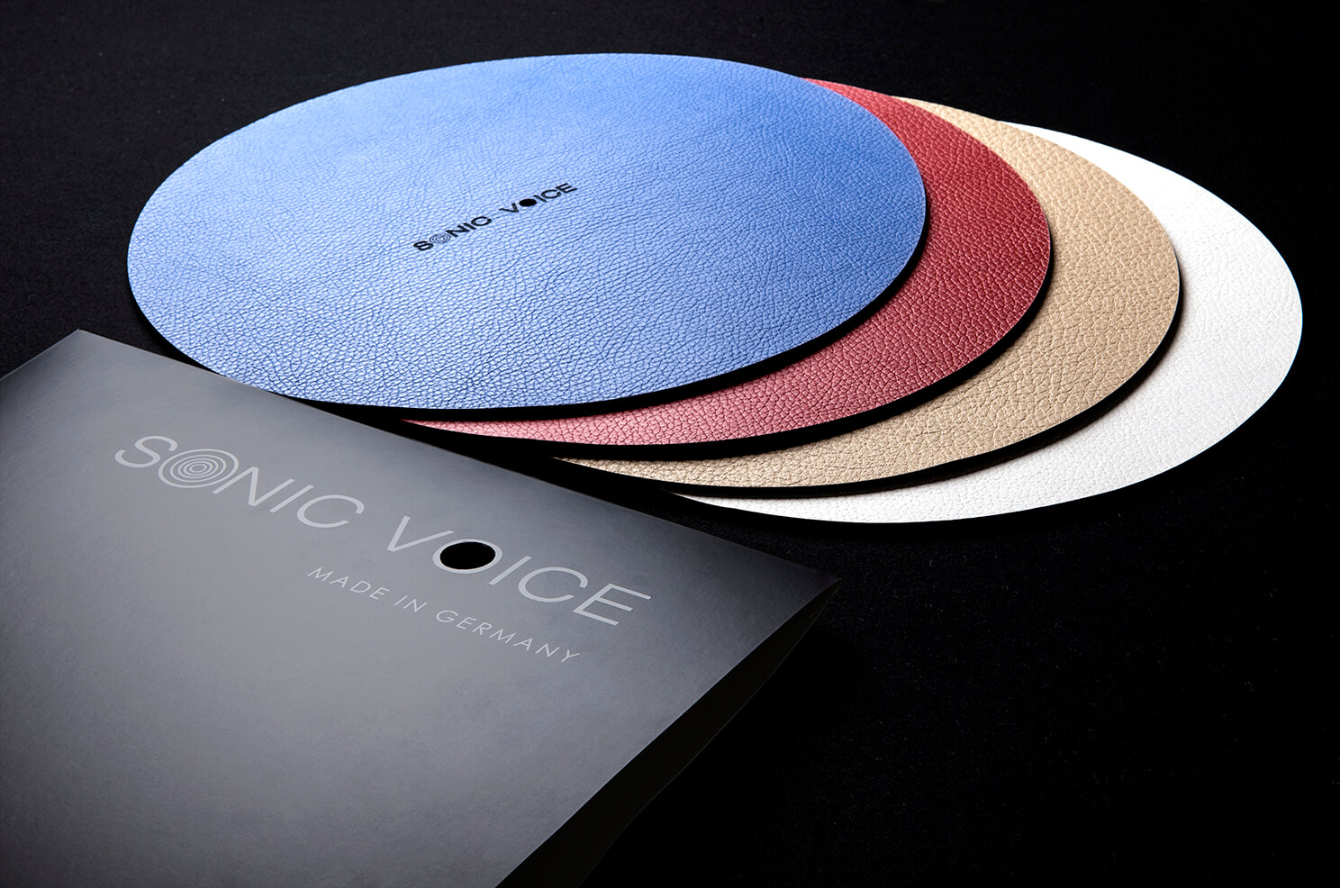 Turntable Mat Classic mit Cover