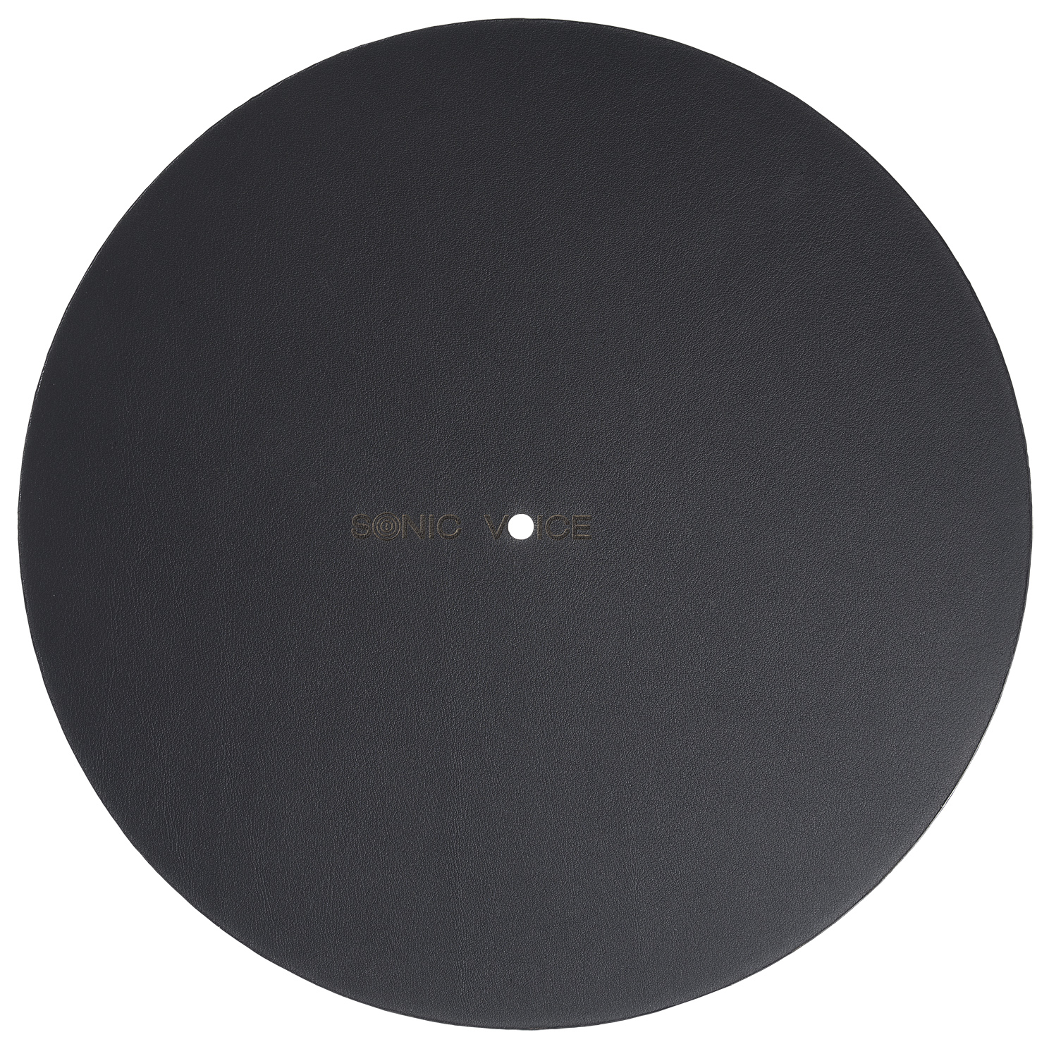 Turntable Mat Carbon - Rückseite