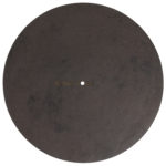 Turntable Mat Special Colors brown-vintage