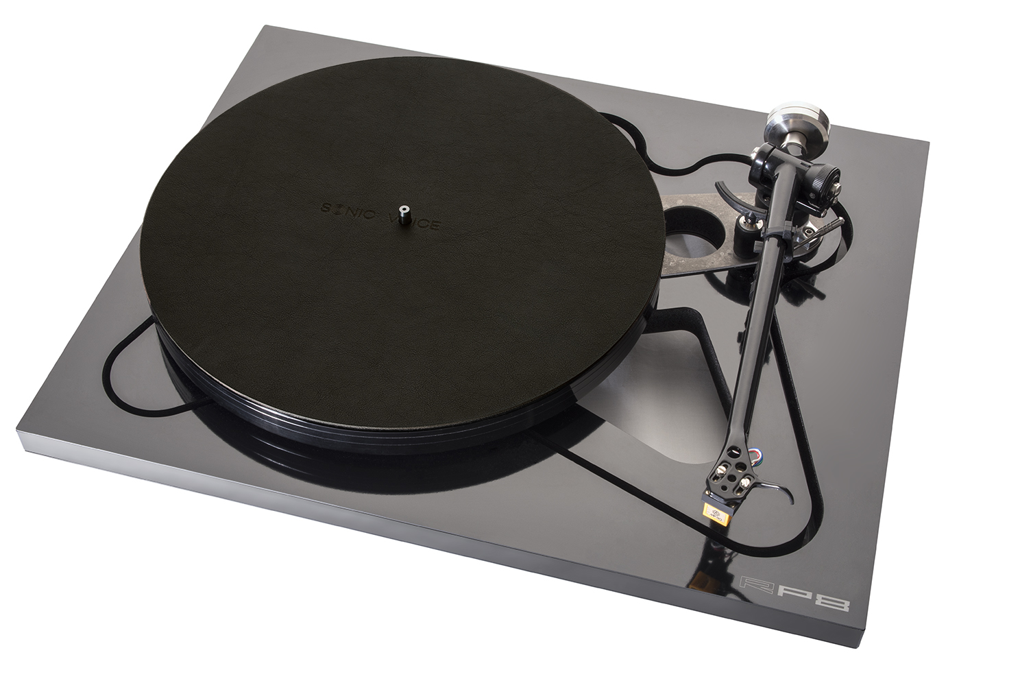 Turntable Mat Ranchero dark-brown mit Filzunterlage