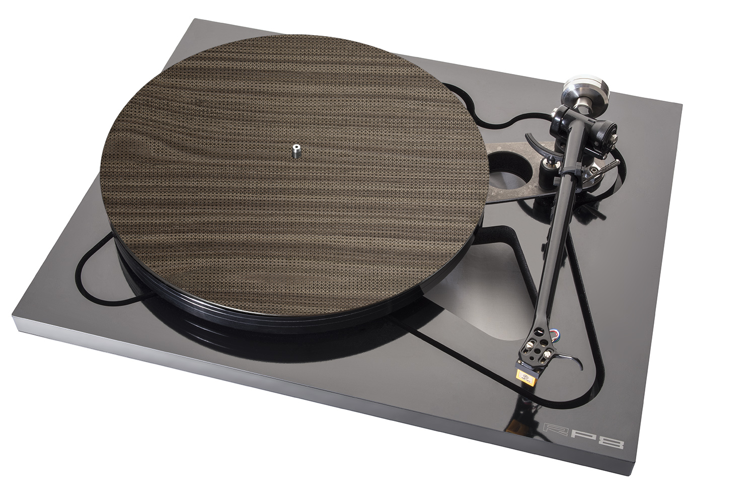 Turntable Mat Wood brown