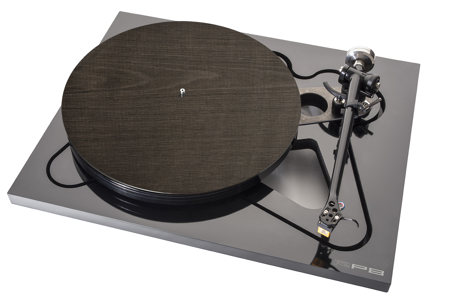 Turntable Mat Wood beige